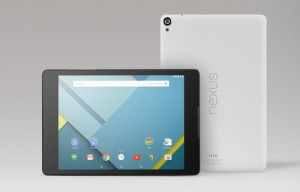 HTC Nexus 9 Tablet – 64-bit CPU, 8.9″ Display, 8 MP Camera & Android Lollipop