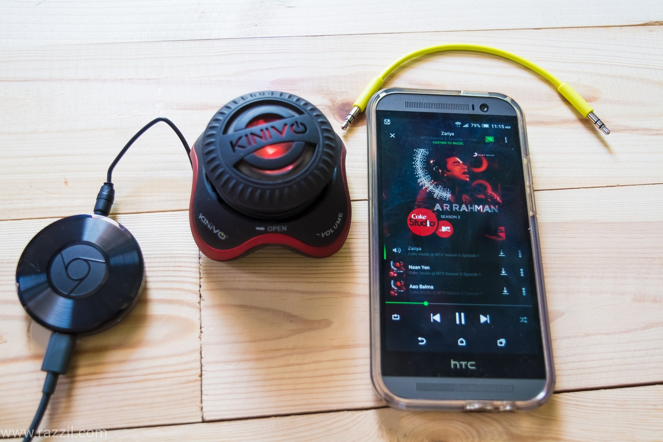 Google Chromecast Audio India Review