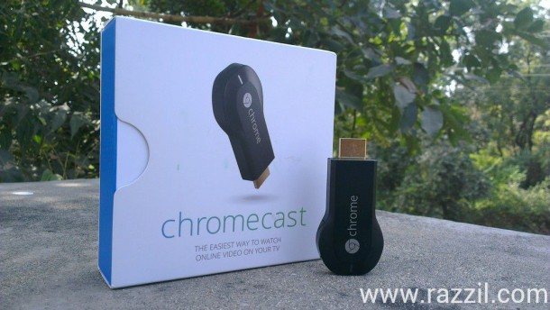 Google Chromecast Review India