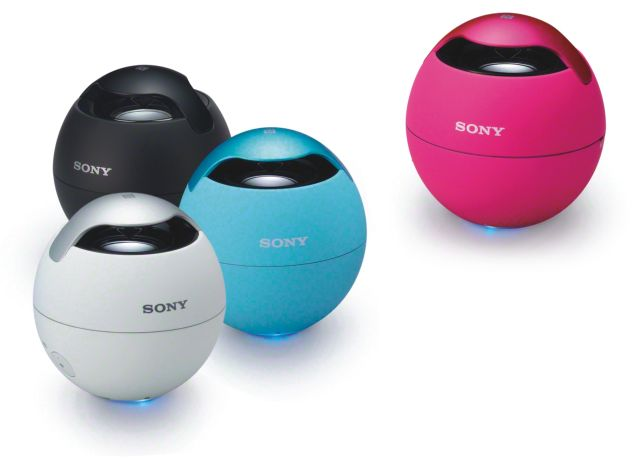 Sony Introduces Wireless NFC and Bluetooth Speakers