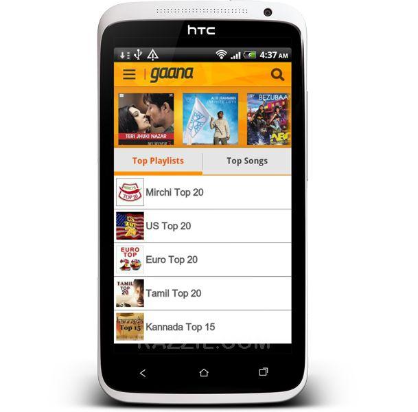 Gaana Android App