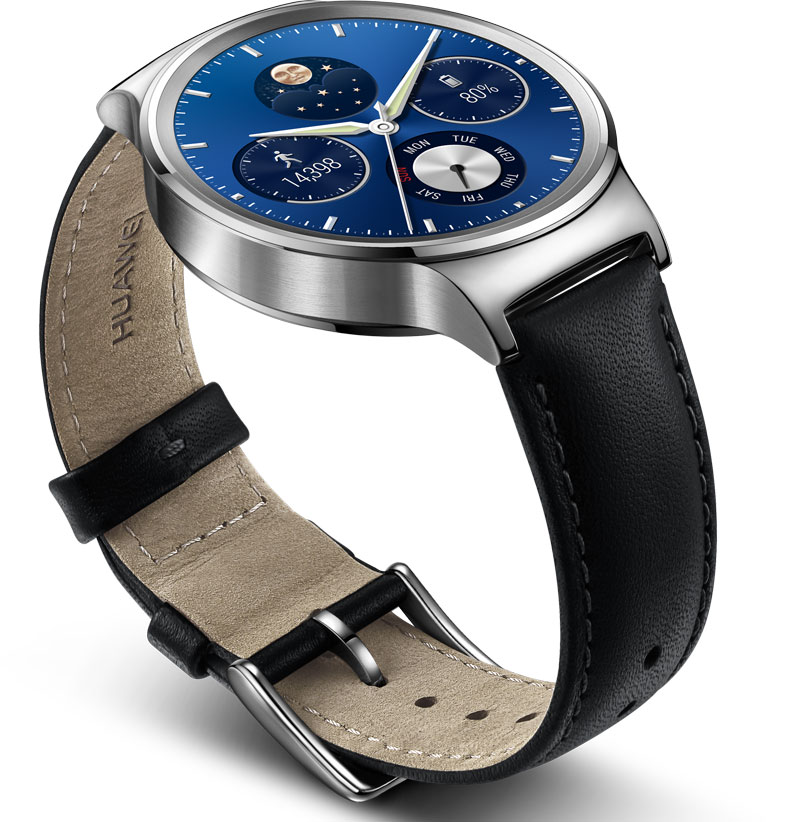 Huawei Watch Classic Circular Design Heart Rate Sensor
