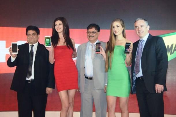 Karbonn Mediatek launch Titanium phones