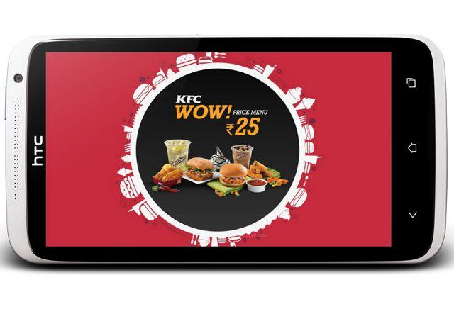 KFC WOW@25 Menu