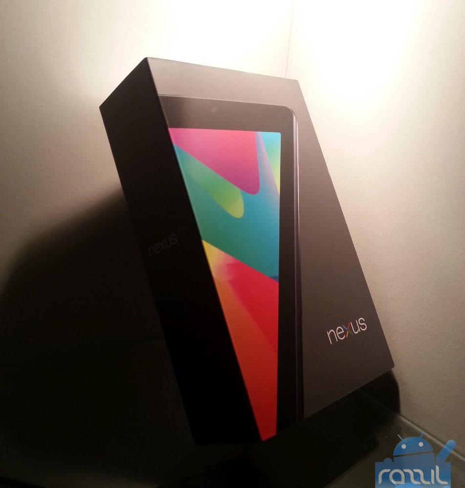Nexus 7 Unboxing