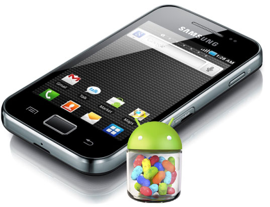 Android 4.1 Jelly Bean ROM Galaxy Ace