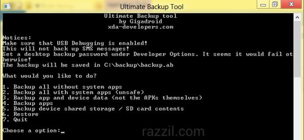 Ultimate Backup Tool for Android
